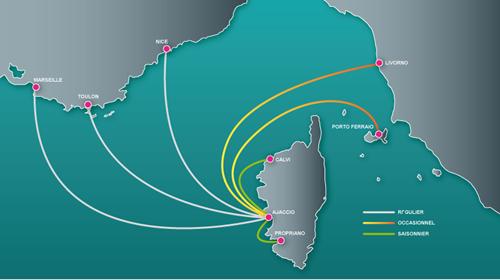 Carte des Aéroports